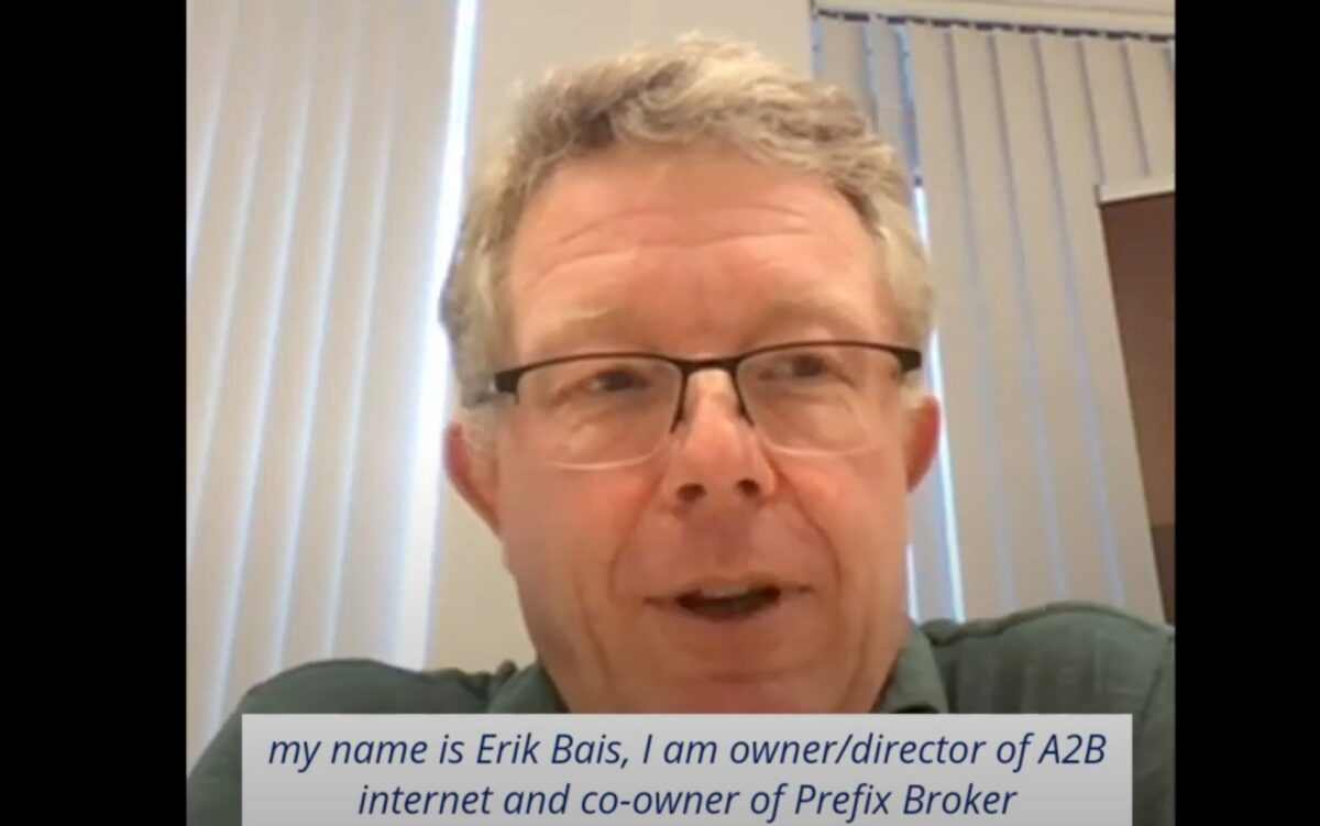 Force21 - 3 Questions - with Erik Bais