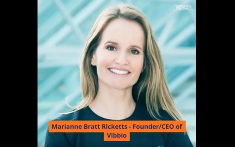 Force21 - 3 Questions with Marianne Bratt Ricketts - CEO of VIBBIO
